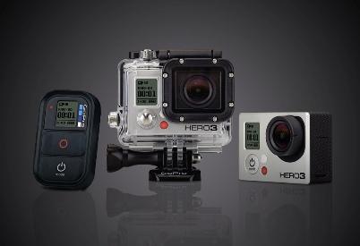 Аэросъемка с помощью миниатюрной экшн-камеры GoPro 3 BE, закрепленной на коптере