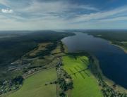 Аэрофотосъемка Ольховка, панорама, аэрофото