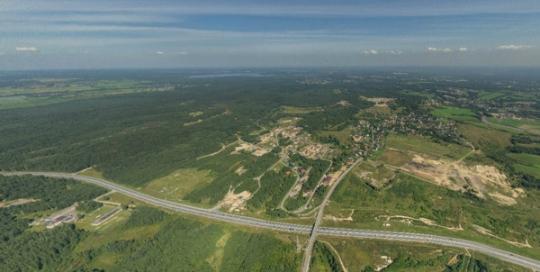 Аэрофотосъемка Охтинское Раздолье, Порошкино, Мистолово, панорама, аэрофото