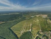 Аэрофотосъемка Порошкино, панорама, аэрофото