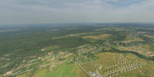 Аэрофотосъемка Сторожевая Гора, Касимово, панорама, аэрофото
