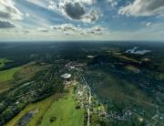 Аэрофотосъемка Сосново, Снегиревка, панорама, аэрофото