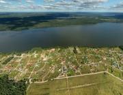 Коттеджный поселок «Зеркальное» аэрофото, панорама, аэрофотосъемка