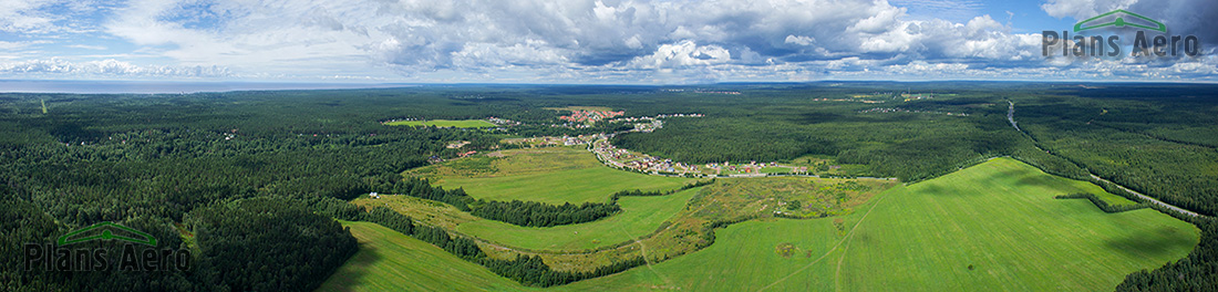 Панорамная аэрофотосъемка с мультикоптера
