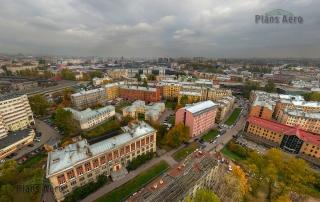 Аэрофотосъемка в черте города