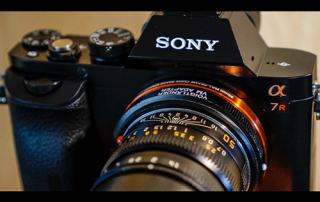Фотокамера для съемки с воздуха. Sony a7R.