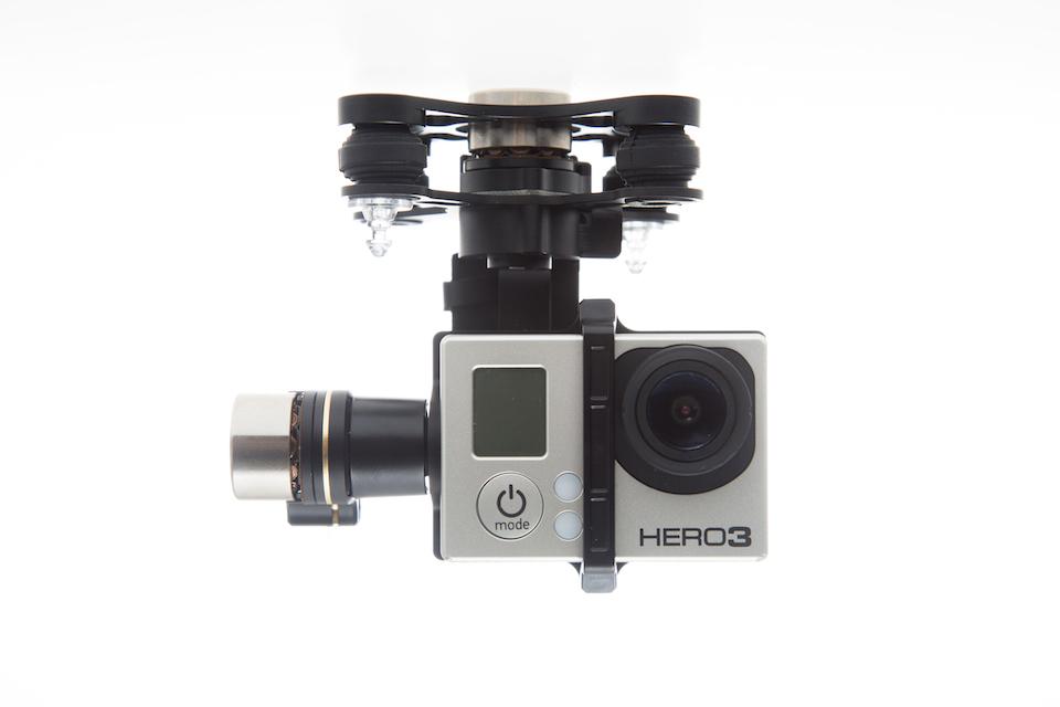Бесколлекторный 3х-осевой подвес Zenmuse H3-3D Gimbal от DJI для GoPro