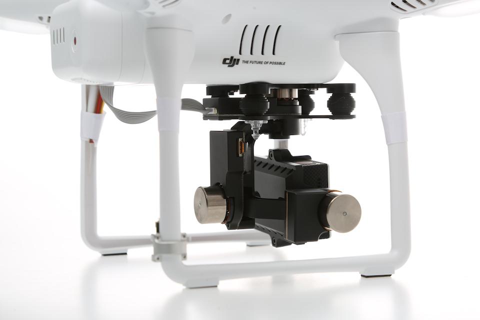 Оборудование для аэросъемки - Бесколлекторный 3х-осевой подвес H3-3D