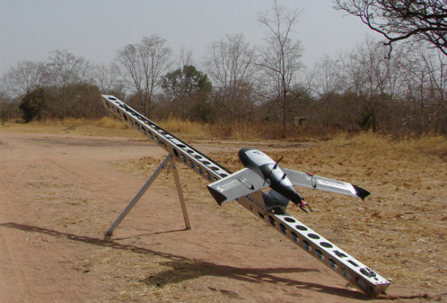 Аэрофотосъемка с беспилотного самолета