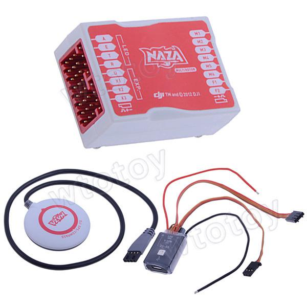 DJI Naza - доступный и надежный контролер для мультикоптеров от DJI