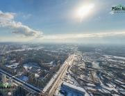 Съемка с воздуха, панорама: Жилой Комплекс Нью-Тон, Ленстройтрест.
