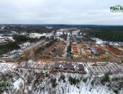 Панорама. Вид с верху: Жилой комплекс Близкое — Аэрофотосъемка