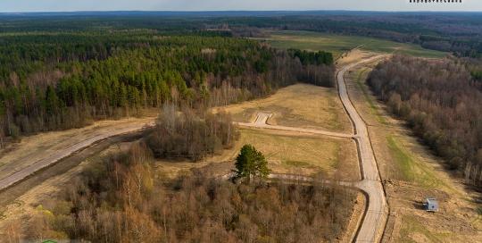 Аэрофотосъемка: Коттеджный посёлок Большая Медведица от Landberry