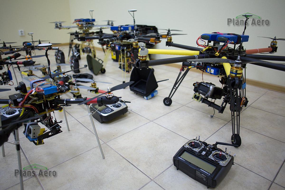 Аэрофотосъемка с беспилотных мультикоптеров