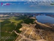 Аэросъемка. Виртуальный тур: Коттеджные поселки Большая Медведица, Золотая Сотка, Сказочная долина, Landberry