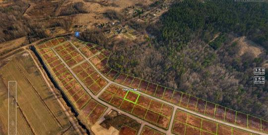 Съемка с воздуха, панорама: Коттеджный поселок Сказочная Долина, Генплан с воздуха