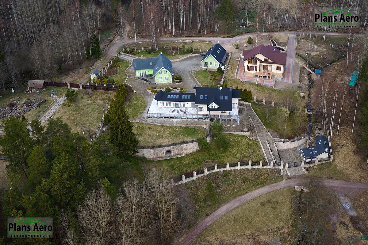 Аэрофотосъемка домов и коттеджей