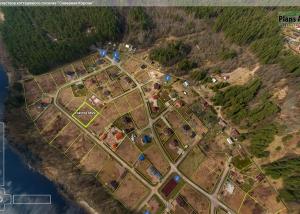 Аэрофотосъемка и план участков - кп. Северная Корона - интерактивный тур с воздуха