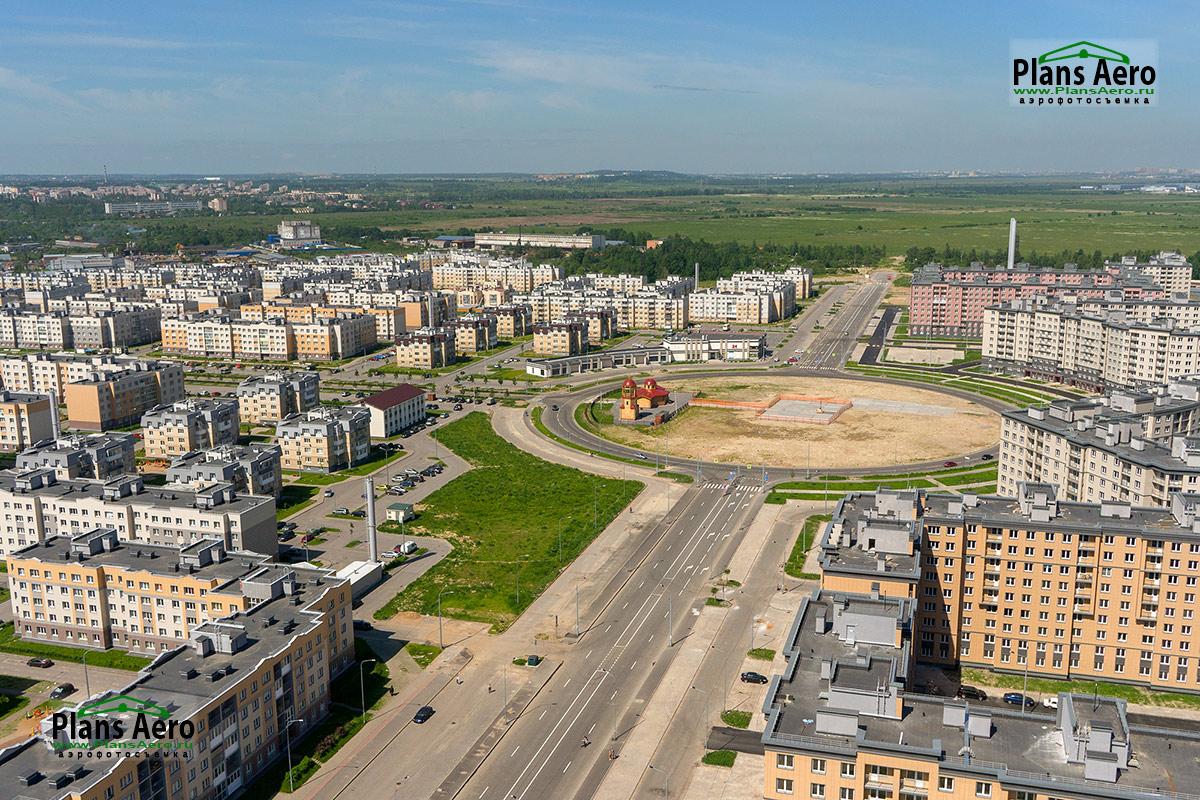 Аэросъемка Жилых Кварталов и комплексов. ПлансАэро