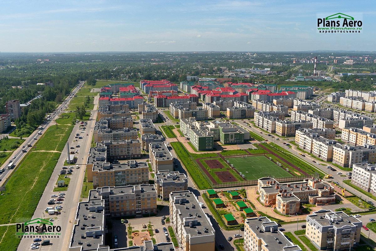 Аэрофотосъемка новостроек в Санкт-Петрбурге и Ленинградской Области