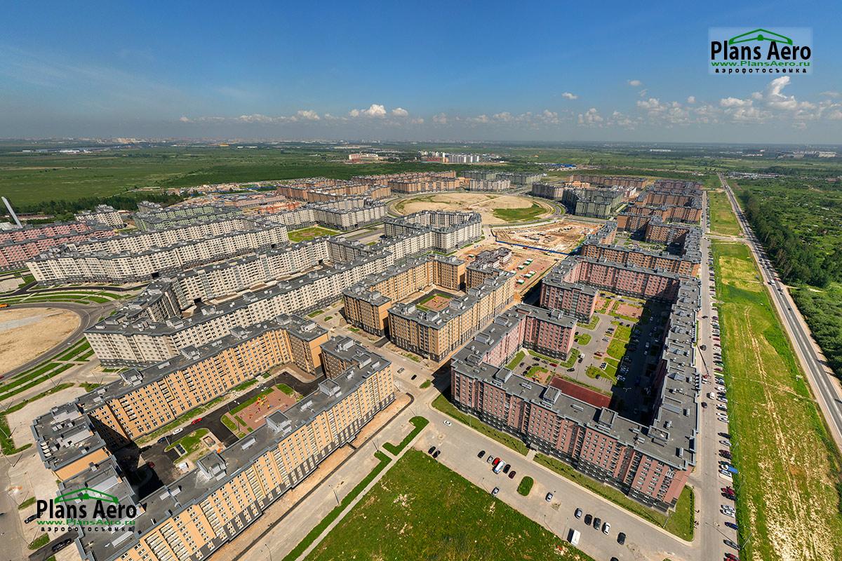 Аэрофотосъемка Жилых Комплексов, высотных домов, новостроек.