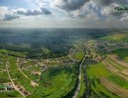 Панорама с воздуха - КП Онегин Парк и ДНП Ландыши