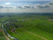 Круговая панорама 360° с воздуха. р. Ижора, Аннолово.