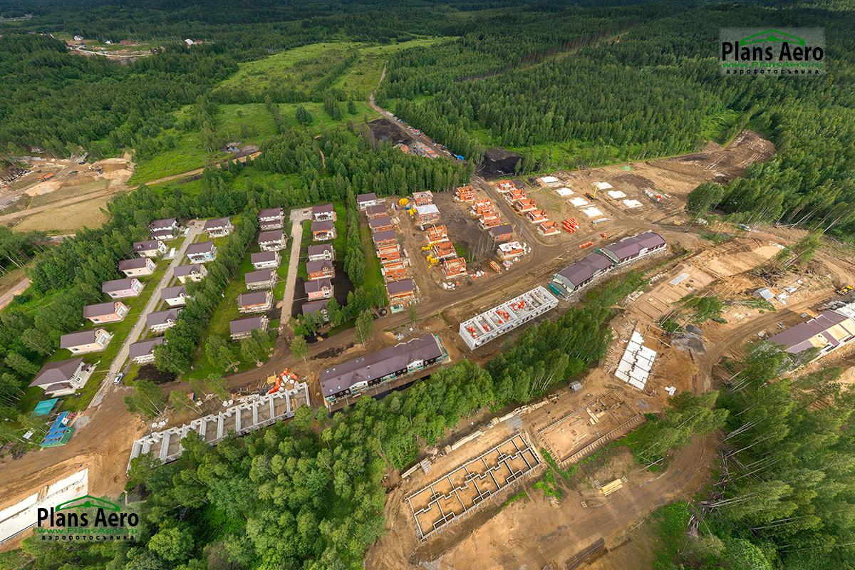 Аэрофотосъемка Коттеджей с мультикоптера. ПлансАэро