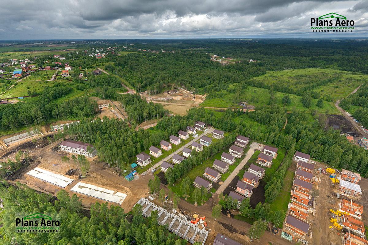 Фото с высоты. Коттеджи, дома, поселки с воздуха. PlansAero