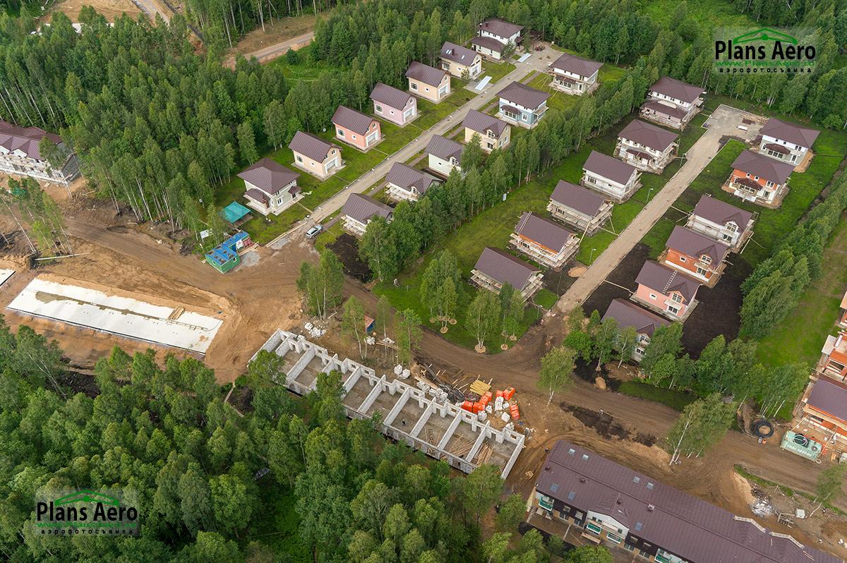 Маловысотная аэрофотосъемка объектов загородной недвижимости. ПлансАэро