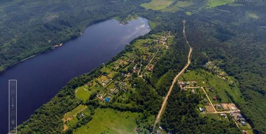 Панорама: СНТ Аллатуло (оз. Правдинское) - Аэрофотосъемка. ПлансАэро