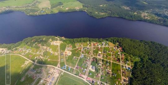 Панорама: КП Правдинское озеро и Зима-Лето - Аэрофотосъемка. ПлансАэро