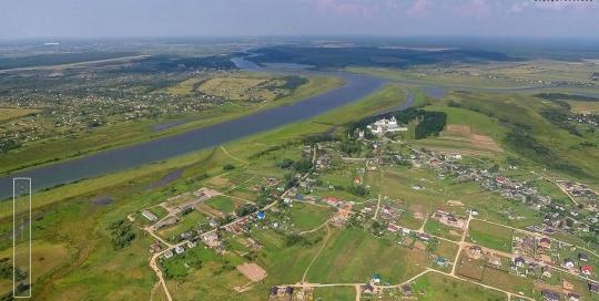 Аэрофотосъемка: Хутынь, Новгородская область
