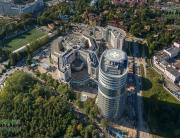 Панорама с воздуха: Федеральный центр имени В. А. Алмазова. ПлансАэро, Аэрофотосъемка