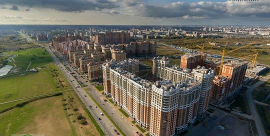 Панорама с воздуха: Жилой комплекс Капитал, Строительный Трест. АэрофотосъемкаПанорама с воздуха: Жилой комплекс Капитал, Строительный Трест. Аэрофотосъемка