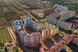 Аэрофотосъемка жилых комплексов и кварталов