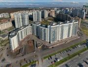 Панорама с воздуха: Жилой комплекс «Победитель», ГлавСтройКомплекс