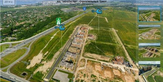 3D Панорама: ЖК NEWПИТЕР, Строительный Трест.