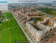 Виртуальный тур с воздуха: ЖК Капитал, Строительный Трест