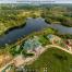 """3D панорама: """"Озерный Край"""" Коттеджный поселок, Строительный Трест"""