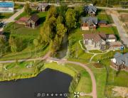 3D панорама: Сад Времени, Коттеджный поселок, Строительный Трест